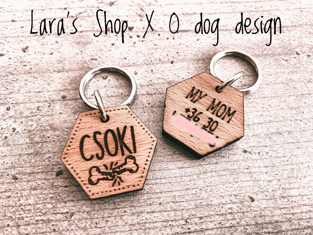 Lara's Shop x O dog design Biléta